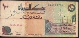 SUDAN P56b 10 DINARS 1994 FINE Writings - Soudan