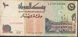 SUDAN P56c 100 DINARS 1994 F-aVF - Soudan