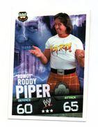 "Slam Attax Evolution - Roddy PIPER ""Rowdy"" - Martial Arts"