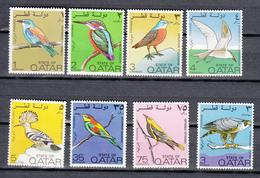 Qatar 1972,8V In Set,birds,vogels,vögel,oiseaux,pajaros,uccelli,aves,MH/Ongebruikt(A3435) - Zonder Classificatie