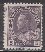 CANADA    SCOTT NO. 112     USED   YEAR  1911 - Used Stamps