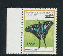 "Bénin 2000  (Papillon ""Graphium Policenes"" 135F/40F) ** Luxe Bdf - RARISSSIME - Benin - Dahomey (1960-...)"