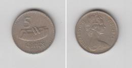 FIDGI - 5 CENTS  1974 - Fidji