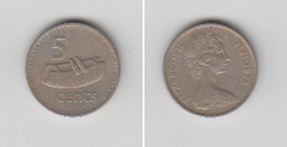 FIDGI - 5 CENTS  1974 - Figi