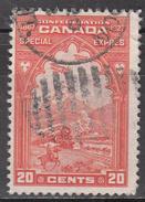 CANADA    SCOTT NO. E3     USED      YEAR  1927 - Gebruikt
