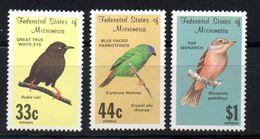 Serie Nº A-32/4 Micronesia - Birds
