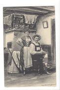 18121 - Couple  Tyrolien Fusil Et Mucisien FEC.CH.Scolik Wien - Couples
