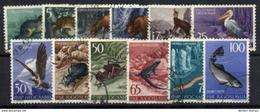 YUGOSLAVIA 1954 Fauna Set Of 12, Used.  Michel 738-749 - 1945-1992 Socialist Federal Republic Of Yugoslavia