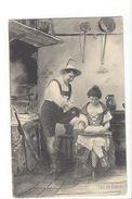 18123 - Couple  Tyrolien Fusil Et Mucisienne FEC.CH.Scolik Wien - Couples