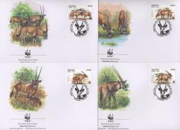 Ref. 23195 * NEW *  - ERITREA . 1996. BEISA ORYX. ORYX DE BEISA - Eritrea