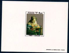 """FR EDL 1982 Épreuve De Luxe Du   N°YT 2231   """"La Dentellière"""" De Vermeer - Luxury Proofs"""