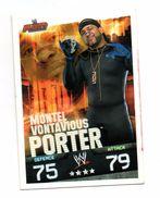 Slam Attax Evolution - Montel Vontavious PORTER - Sports De Combat