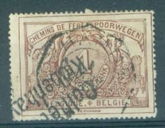 "BELGIE - TR 26 - Telegraafstempel  ""HAMME"" + Cachet ""KOBENHAVEN"" ? - (ref. 16.640) - Railway"