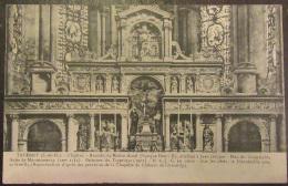 Taverny - L'Eglise - Retable Du Maître-Autel - Timbre YT N°137 - Cachet 1908 - Taverny