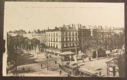 Toulouse N°28 - Boulevard De Strasbourg - Carrefour Jean-Jaurès - Animée + Tramway - Circulée Le 3 Août 1920 (?) - Toulouse