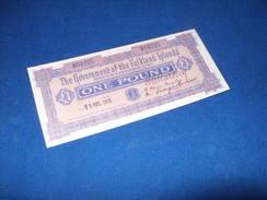 1 Pound 1913 FALKLAND ISLANDS (Islas Malvinas),copy - Otros – América