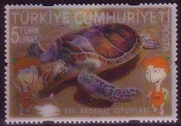 Turkey 2013  3D Plastic Lenticular (multi Image)  Turtle - Unusual - Nuevos