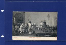 "##(YEL)  Italy - 1919 -""Paisiello Dirige Un Concerto/Paisiello  Directs A Concert"" Postcard Used - Muziek En Musicus"