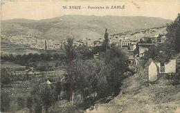 PIE 17-FL-8006 : PANORAMA DE ZAHLE - Syria