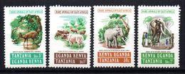 Serie Nº 297/300  Kenia-uganda-tanzania. - Elefantes
