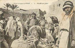 PIE 17-FL-8010 : MARCHE AUX GRAINS EN SYRIE - Syria