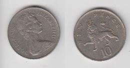 10 NEW PENCE 1975 - 1971-… : Monnaies Décimales