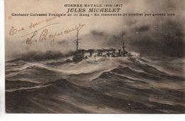 Bateaux : Marine De Guerre : ''Le Jules Michelet'' - Guerra