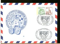 GERMANIA - Intero Postale - BUNDESWEHR - SONTHOFEN - LUFTWAFFE - CLOCK OROLOGIO - Orologeria