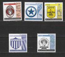 Grece N° 2359 à 2363** Série Clubs De Sport Historiques - Griechenland