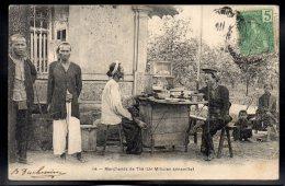 ASIE - VIET NAM - Marchands De Thé (Un Milicien Annamite) - Vietnam