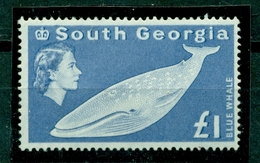 South Georgia,Blauwal, Nr. 23 Postfrisch ** - Südgeorgien