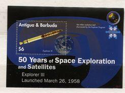 Antigua & Barbuda, Space,  50 Years Explorer 3 - Space