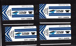 GABON; Carte 3250 Unités - Gabon