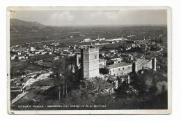 VITTORIO VENETO - PANORAMA COL CASTELLO DI S.MARTINO VIAGGIATA  FP - Treviso