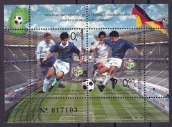 Montenegro 2006 Football World Championship Germany, Soccer, Stadium, Block, Souvenir Sheet MNH - 2006 – Germany