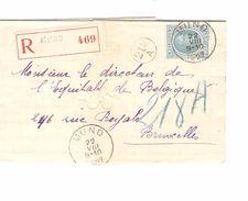 TP 207 Albert Houyoux S/L.recommandée C.Muno 22/8/1927 V.BXL AP1238 - Belgien