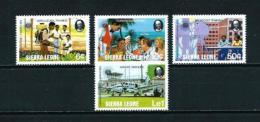 Sierra Leona  Nº Yvert  565/8  En Nuevo - Sierra Leone (1961-...)