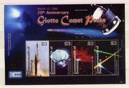 "Dominica, Space, ""20 Year  Giotto Comet Probe"" , ESA - Space"