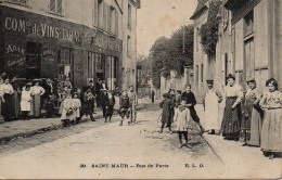 94 SAINT-MAUR  Rue De Paris (très Animée TOP) - Saint Maur Des Fosses