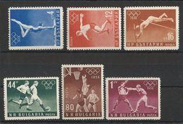 BULGARIA 1956 - OLYMPICS MELBOURNE 56  - YVERT Nº 867-972** - Sommer 1956: Melbourne