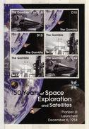 "Gambia  2008  Space, ""Pioneer 3"" - Space"