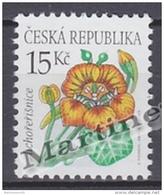 Czech Republic - Tcheque 2007 Yvert  477, Definitive, Flowers, Tropaeolum Majus - MNH - Tchéquie