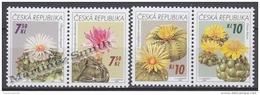 Czech Republic - Tcheque 2006 Yvert  439/42, Flowers, Cactus  - MNH - Czech Republic