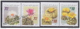 Czech Republic - Tcheque 2006 Yvert  439/42, Flowers, Cactus  - MNH - República Checa