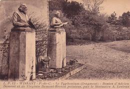 62- Wissant 2 Cpa - Le Monument Aux Morts -  Le Typhonium - Wissant