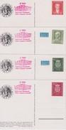 RFA 1950 LOT DE 4 CARTES POSTALES - [7] République Fédérale