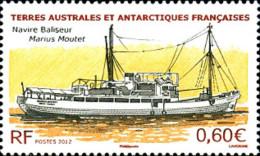 Ref. 278514 * NEW *  - FRENCH ANTARCTIC TERRITORY . 2012. BOAT. BARCO - Französische Süd- Und Antarktisgebiete (TAAF)