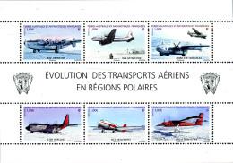 Ref. 278516 * NEW *  - FRENCH ANTARCTIC TERRITORY . 2012. AIR TRANSPORT. TRANSPORTE AEREO - Französische Süd- Und Antarktisgebiete (TAAF)