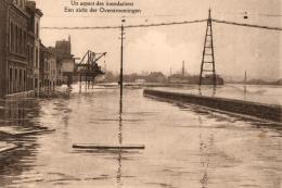 BELGIQUE - (région Flandre Occidentale ?) - Un Aspect Des Inondations - Een Zicht Der Overstroomingen. - Inondations