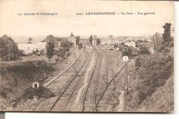 LAVAUFRAUCHE - La Gare - Vue Générale - France